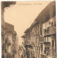 Postales: FUENTERRABIA: CALLE MAYOR. EDICIÓN LA ESPAÑOLA.. Lote 221431702
