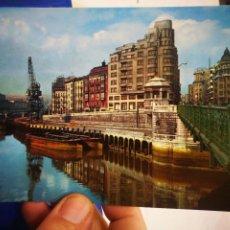 Postales: POSTAL BILBAO MUELLE DE ROPA N 5 ESCRITA Y SELLADA. Lote 221457118