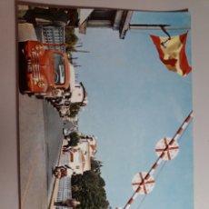 Postales: TARJETA POSTAL FRONTERA ESPAÑOLA IRUN CAMPAÑA Y PUIG FERRAN TARJETA POSTAL NO ESCRITA NO CIRCULADA. Lote 221613813