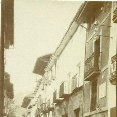 Postales: GUIPUZCOA VILLARREAL DE URRECHUA. CASA NATAL DEL BARDO IPARAGUIRRE. HACIA 1910. PIEZA ÚNICA.. Lote 221702081