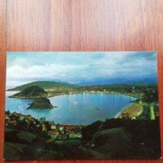 Postales: POSTAL SAN SEBASTIAN. VISTA DESDE EL MONTE IGUELDO. AÑO 1.962.. Lote 221720588