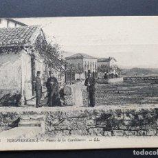 Postales: FUENTERRABIA - HONDARRIBIA - GUIPUZCOA POSTAL ANTIGUA ORIGINAL CARABINERO. Lote 221785241