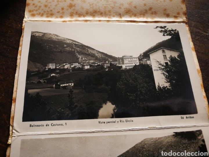 Postales: BLOC 8 POSTALES FOTOGRAFÍAS ARTISTICA RECUERDO BALNEARIO CESTONA (PAÍS VASCO), ED. ARRIBAS. - Foto 4 - 222004581