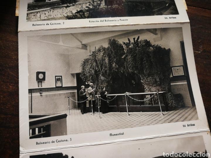 Postales: BLOC 8 POSTALES FOTOGRAFÍAS ARTISTICA RECUERDO BALNEARIO CESTONA (PAÍS VASCO), ED. ARRIBAS. - Foto 6 - 222004581
