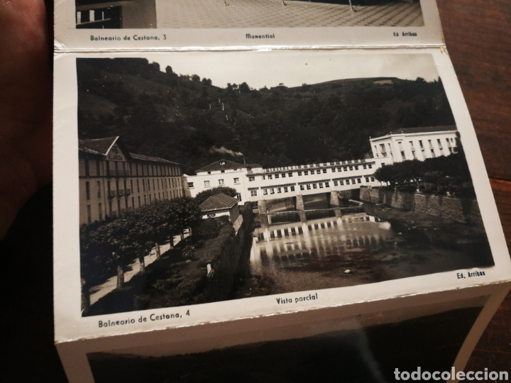 Postales: BLOC 8 POSTALES FOTOGRAFÍAS ARTISTICA RECUERDO BALNEARIO CESTONA (PAÍS VASCO), ED. ARRIBAS. - Foto 7 - 222004581