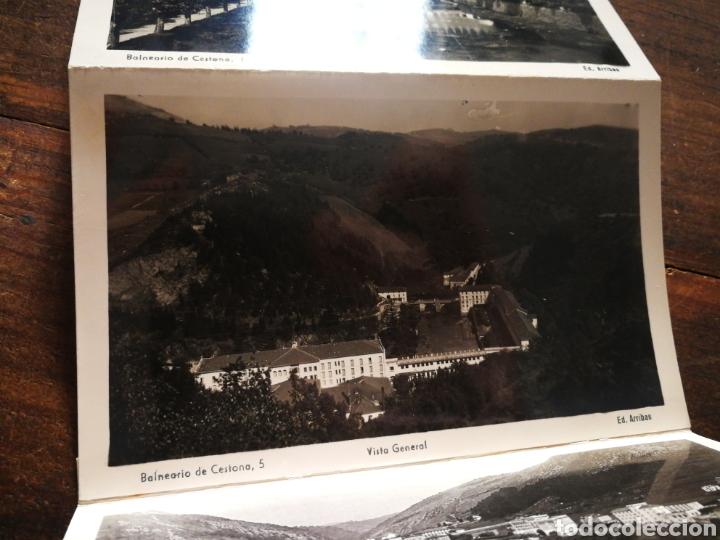 Postales: BLOC 8 POSTALES FOTOGRAFÍAS ARTISTICA RECUERDO BALNEARIO CESTONA (PAÍS VASCO), ED. ARRIBAS. - Foto 8 - 222004581