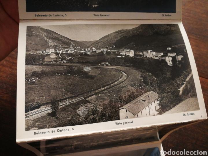 Postales: BLOC 8 POSTALES FOTOGRAFÍAS ARTISTICA RECUERDO BALNEARIO CESTONA (PAÍS VASCO), ED. ARRIBAS. - Foto 9 - 222004581