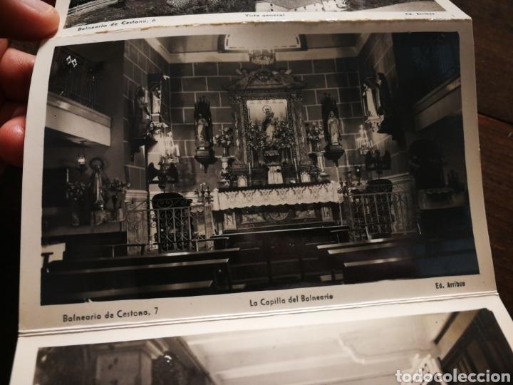 Postales: BLOC 8 POSTALES FOTOGRAFÍAS ARTISTICA RECUERDO BALNEARIO CESTONA (PAÍS VASCO), ED. ARRIBAS. - Foto 10 - 222004581