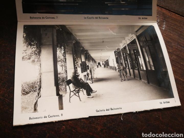 Postales: BLOC 8 POSTALES FOTOGRAFÍAS ARTISTICA RECUERDO BALNEARIO CESTONA (PAÍS VASCO), ED. ARRIBAS. - Foto 11 - 222004581