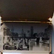 Postales: 1950 BILBAO POSTALES NO CIRCULABLES FOTOGRÁFICAS EN ACORDEÓN. Lote 222257077