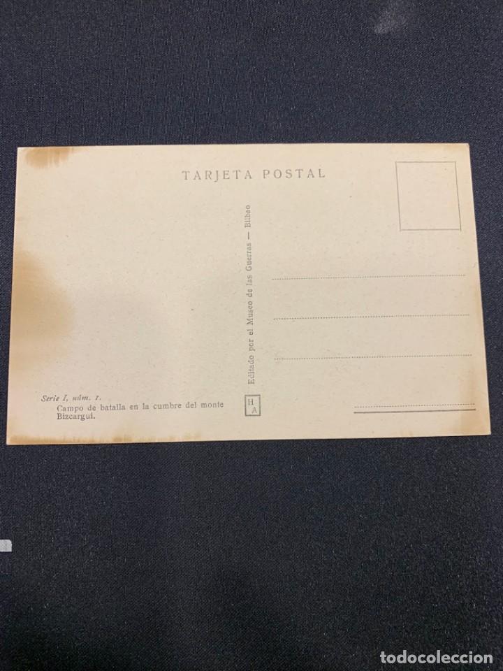 Postales: FOTO POSTAL ANTIGUA BILBAO CINTURON DE HIERRO CAMPO BATALLA MONTE BIZCARGUI NO CIRCULADA - Foto 2 - 222478871