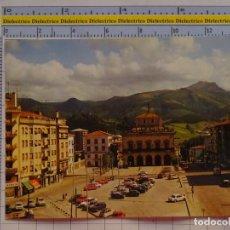 Postales: POSTAL DE GUIPÚZCOA. AÑO 1974. IRÚN PLAZA DE SAN JUAN Y AYUNTAMIENTO. FOURNIER. 1065. Lote 222490632