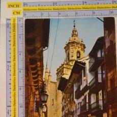 Postales: POSTAL DE GUIPÚZCOA. AÑO 1965. FUENTERRABÍA, CALLE MAYOR. 17 FOURNIER. 1068. Lote 222490836