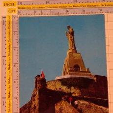 Postales: POSTAL DE GUIPÚZCOA. AÑO 1969. SAN SEBASTIAN MONUMENTO AL SAGRADO CORAZÓN 80 GIF. 1073. Lote 222491173