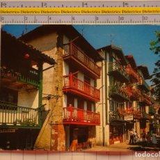 Postales: POSTAL DE GUIPÚZCOA. AÑO 1980. FUENTERRABIA BARRIO DE PESCADORES LA MAGDALENA. 1077. Lote 222494242