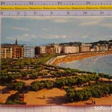 Postales: POSTAL DE GUIPÚZCOA. AÑO 1968. SAN SEBASTIAN, JARDINES DE ALDERDI EDER Y LA CONCHA. 1078. Lote 222494323