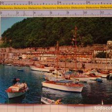 Postales: POSTAL DE GUIPÚZCOA. AÑO 1965. SAN SEBASTIAN EL MUELLE 108 ALARDE. 1084. Lote 222494817