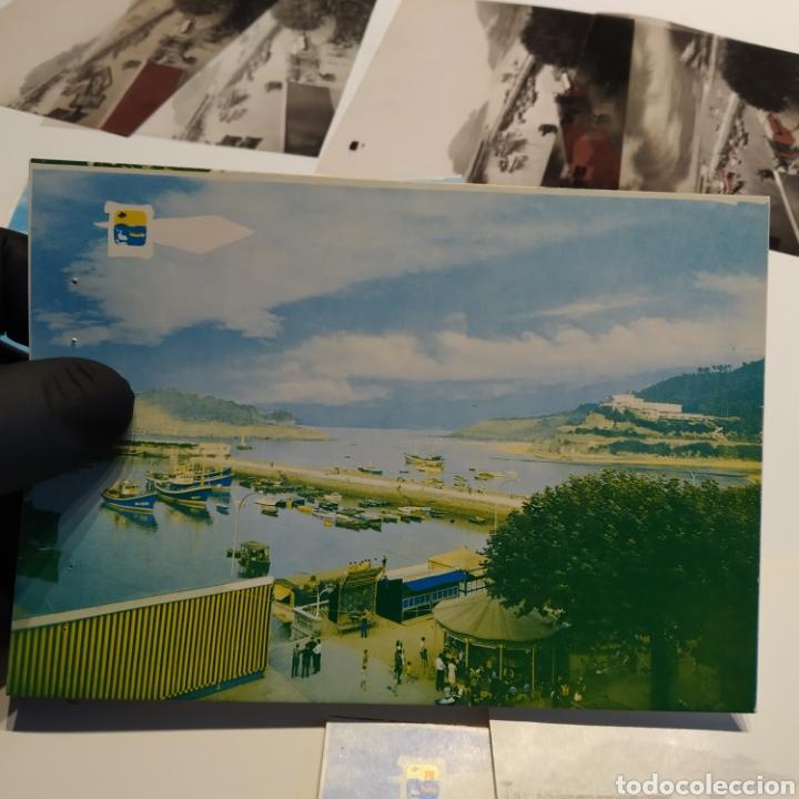 Postales: ¡IRREPETIBLE! Lequeitio, Puerto, Bahía y Kurlutxu EL PERGAMINO Lote clichés imprenta + prueba postal - Foto 10 - 222596622
