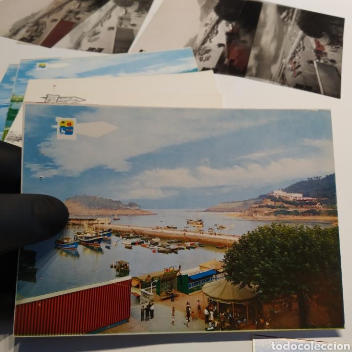 Postales: ¡IRREPETIBLE! Lequeitio, Puerto, Bahía y Kurlutxu EL PERGAMINO Lote clichés imprenta + prueba postal - Foto 13 - 222596622