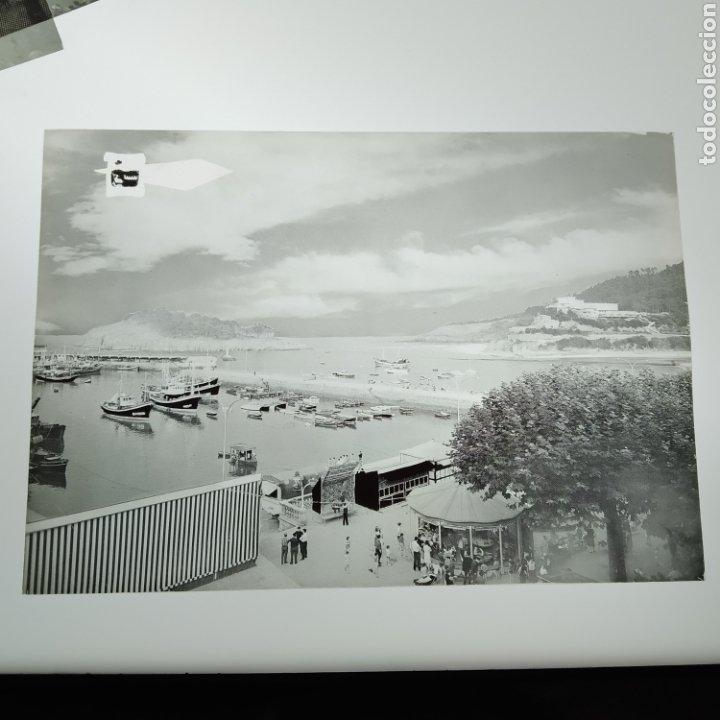 Postales: ¡IRREPETIBLE! Lequeitio, Puerto, Bahía y Kurlutxu EL PERGAMINO Lote clichés imprenta + prueba postal - Foto 6 - 222596622
