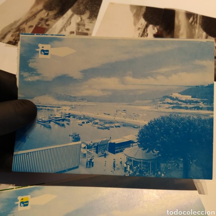 Postales: ¡IRREPETIBLE! Lequeitio, Puerto, Bahía y Kurlutxu EL PERGAMINO Lote clichés imprenta + prueba postal - Foto 9 - 222596622