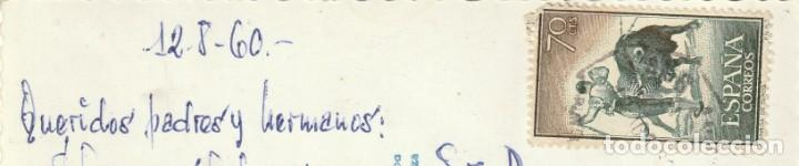 Postales: Postal FUENTERRABIA vista parcial. CIRCULADA. Fechada el 12 agosto 1960 - Foto 2 - 222708140