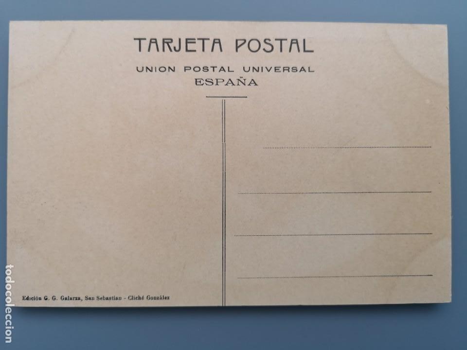 Postales: POSTAL SAN SEBASTIAN Nº 101 MONTE ULIA LA PEÑA DEL AGUILA EDIC G. GALARZA GUIPUZCOA PERFECTA CONS - Foto 2 - 222748145