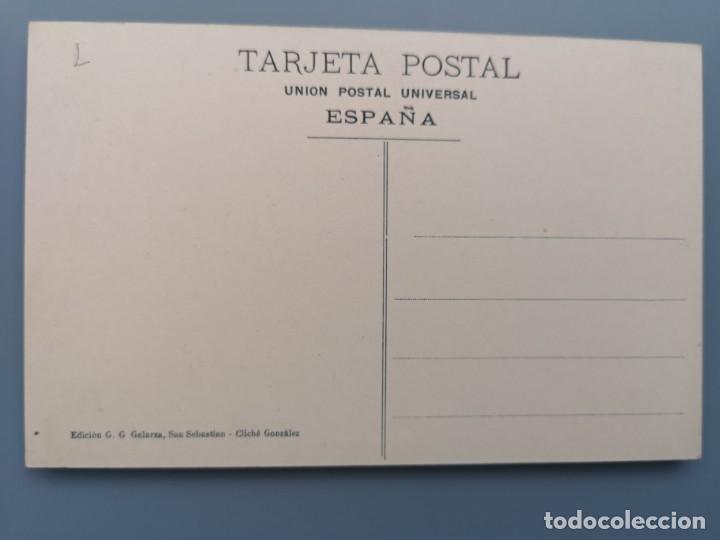 Postales: POSTAL SAN SEBASTIAN Nº 98 PASEO DE LA ALAMEDA EDIC G. GALARZA GUIPUZCOA PERFECTA CONSERVAC - Foto 2 - 222748607