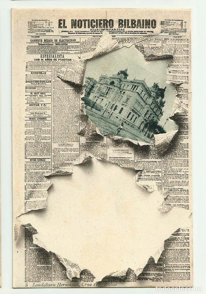 bilbao. portada diario -el noticiero bilbaino- - Acheter Cartes Postales anciennes du Pays ...