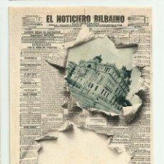 Postales: BILBAO. PORTADA DIARIO -EL NOTICIERO BILBAINO- Nº 3 LANDABURU HERMANOS. POSTALES 0104. Lote 222748813