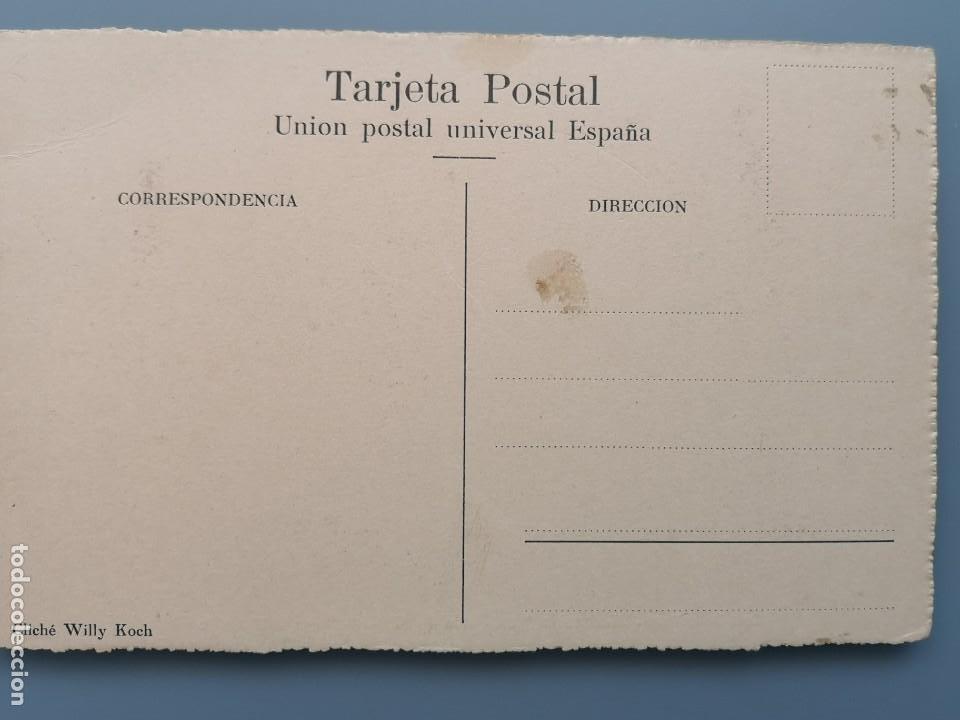 Postales: POSTAL SAN SEBASTIAN BALNEARIO PERLA DEL OCEANO VISTA DE LA PLAYA EDIC KOCH GUIPUZCOA PERFECTA CONS - Foto 2 - 222749756