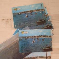 Postales: ALGORTA .- MUELLE DE ARRILUCE / POSTAL / NEGATIVOS /PRUEBAS DE COLOR .- EDI. PERGAMINO. Lote 222876548