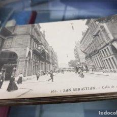 Postales: LOTE ANTIGUAS POSTALES SAN SEBASTIAN EDITOR GALARZA. Lote 222906845