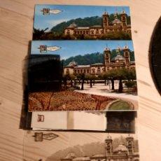 Postales: SAN SEBASTIAN / AYUNTAMIENTO SAGRADO CORAZON / POSTAL,NEGATIVOS PRUEBAS DE COLOR /EDI.PERGAMINO. Lote 223477260