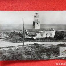 Postales: FUENTERRABIA - HONDARRIBIA GUIPÚZCOA POSTAL ANTIGUA ORIGINAL EL FARO. Lote 224622478