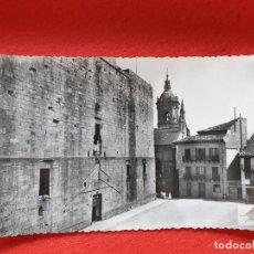 Postales: FUENTERRABIA - HONDARRIBIA GUIPÚZCOA POSTAL ANTIGUA ORIGINAL CASTILLO. Lote 224622676