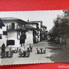 Postales: FUENTERRABIA - HONDARRIBIA GUIPÚZCOA POSTAL ANTIGUA ORIGINAL. Lote 224623062