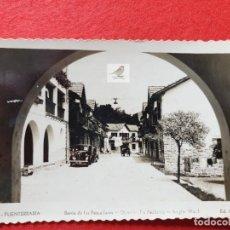 Postales: FUENTERRABIA - HONDARRIBIA GUIPÚZCOA POSTAL ANTIGUA ORIGINAL. Lote 224624612