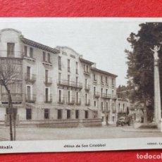 Postales: FUENTERRABIA - HONDARRIBIA GUIPÚZCOA POSTAL ANTIGUA ORIGINAL. Lote 224624771