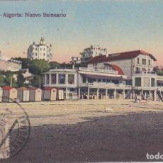 Postales: BILBAO (VIZCAYA) - ALGORTA NUEVO BALNEARIO. Lote 225686381