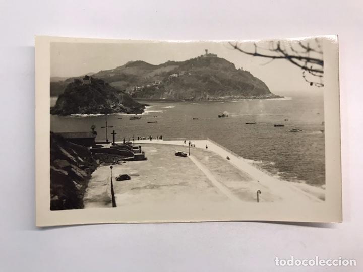 SAN SEBASTIÁN. POSTAL NO.17, ENTRADA A LA BAHÍA., EDICIONES LUJO, ZARAGOZA (H.1950?) S/C (Postales - España - País Vasco Moderna (desde 1940))