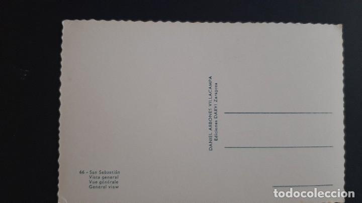 Postales: LOTE 281120.-34 POSTAL SAN SEBASTIAN VISTA GENERAL DANIEL ARBONES - Foto 2 - 227602275