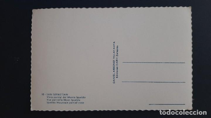 Postales: LOTE 281120.-36 POSTAL SAN SEBASTIAN VISTA GENERAL DEL MONTE IGUELDO DANIEL ARBONES - Foto 2 - 227602520