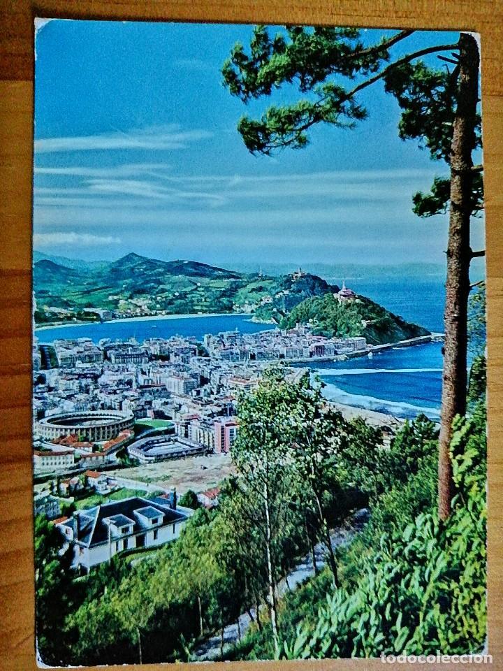 POSTAL - SAN SEBASTIÁN - VISTA DESDE EL MONTE ULIA. (Postales - España - País Vasco Moderna (desde 1940))