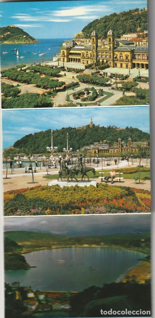 Postales: ALBUM 20 DIFERENTES PEQUEÑAS FOTO POSTALES ESCENAS Y VISTAS SAN SEBASTIAN - Foto 3 - 228160055