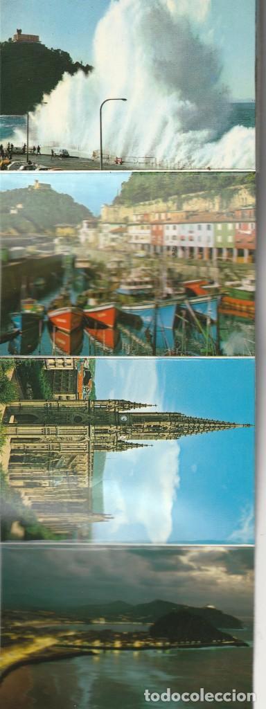 Postales: ALBUM 20 DIFERENTES PEQUEÑAS FOTO POSTALES ESCENAS Y VISTAS SAN SEBASTIAN - Foto 7 - 228160055