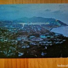 Postales: POSTAL - SAN SEBASTIÁN - UN BELLO PANORAMA NOCTURNO.. Lote 228364695