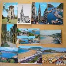 Postales: LOTE 39 POSTALES DE GUIPUZCOA. Lote 228421730