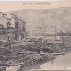 Postales: BILBAO (VIZCAYA) - MUELLE DE RIPA. Lote 231671225