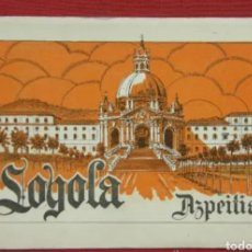 Postales: ~ ÁLBUM DE 10 POSTALES FOTOGRÁFICAS DE LOYOLA AZPEITIA ED. GM 9,5 X 15 CM ~. Lote 231908910